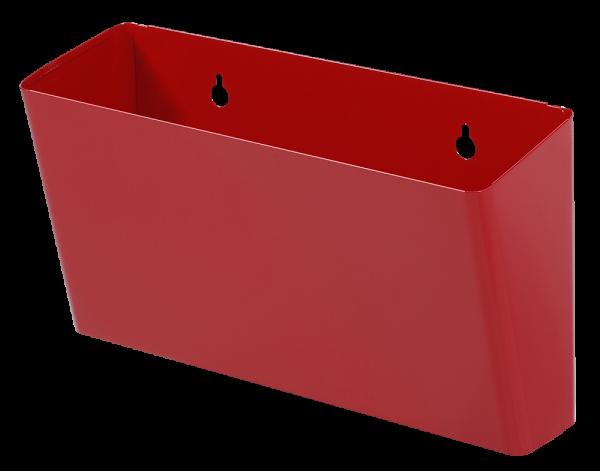 Abfallbehälter rot (S10, S11)