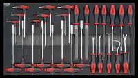 SFS Innensechskantschlüssel- und Steckschlüssel-Satz