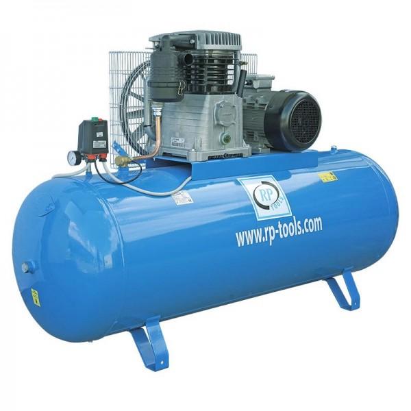 RP-Tools Kompressor 500 l 2 Zyl. 10 PS 400 V - AN 990L AB 870L - Betriebsdruck 15 Bar - Made in Ital