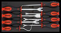 1/3 SFS Spezialwerkzeug für Kfz-Kunststoffverkleidung, 8-tlg