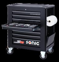 Werkstattwagen S10 gefüllt, 460-tlg., schwarz