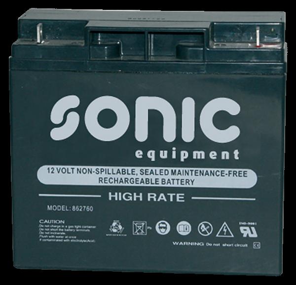 Batterie 12V-700A (180x75x168mm) für Micro 12V/700CA