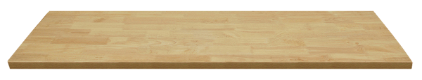 MSS Holz-Arbeitsplatte 674x500x40mm
