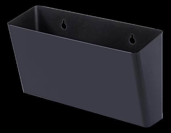 Abfallbehälter schwarz (S10, S11, Work)