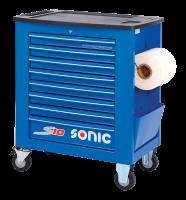 Werkstattwagen leer, S10, blau